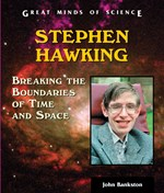 """<h2><a href=""""http://www.enslow.com/books/Stephen_Hawking/1490"""">Stephen Hawking: <i>Breaking the Boundaries of Time and Space</i></a></h2>"""