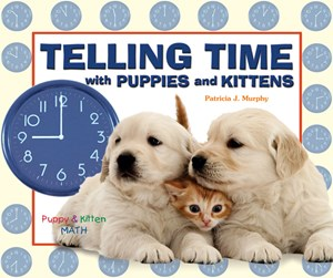 Picture of Telling Time with Puppies and Kittens