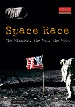 "<h2><a href=""http://www.enslow.com/books/Space_Race/513"">Space Race: <i>The Mission, the Men, the Moon</i></a></h2>"
