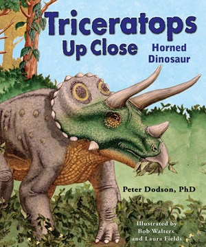 Picture of Triceratops Up Close: Horned Dinosaur