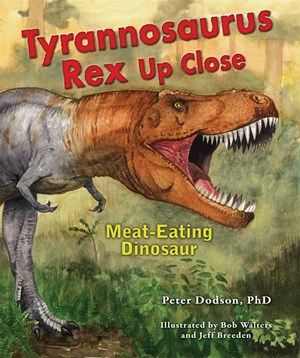 Picture of Tyrannosaurus Rex Up Close: Meat-Eating Dinosaur