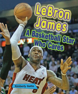 Picture of LeBron James: A Basketball Star Who Cares