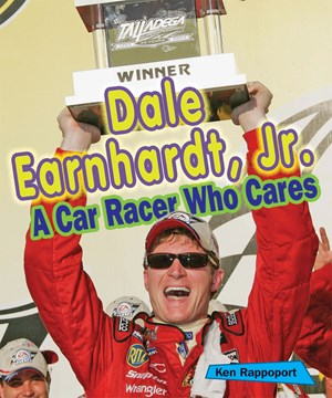 Picture of Dale Earnhardt, Jr.: A Car Racer Who Cares