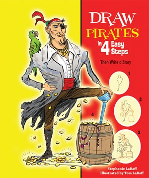 Picture of Draw Pirates in 4 Easy Steps: Then Write a Story