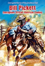 "<h2><a href=""http://www.enslow.com/books/Bill_Pickett/932"">Bill Pickett: <i>Courageous African-American Cowboy</i></a></h2>"