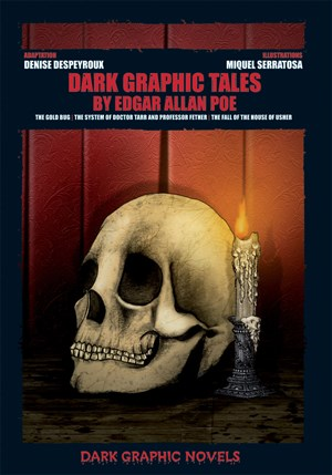Picture of Dark Graphic Tales by Edgar Allan Poe