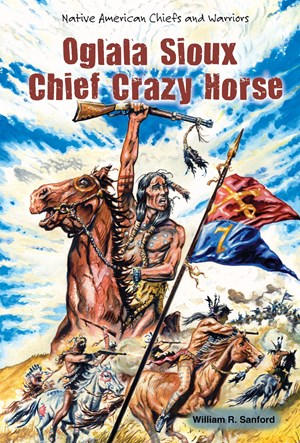 Picture of Oglala Sioux Chief Crazy Horse