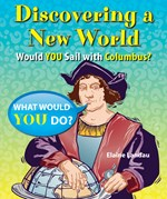 """<h2><a href=""""http://www.bluewaveclassroom.com/books/Discovering_a_New_World/4075"""">Discovering a New World: <i>Would You Sail with Columbus?</i></a></h2>"""