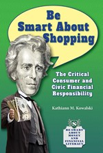 "<h2><a href=""http://www.bluewaveclassroom.com/books/Be_Smart_About_Shopping/4138"">Be Smart About Shopping: <i>The Critical Consumer and Civic Financial Responsibility</i></a></h2>"