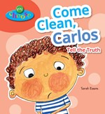 "<h2><a href=""http://www.bluewaveclassroom.com/books/Come_Clean_Carlos/4189"">Come Clean, Carlos: <i>Tell the Truth</i></a></h2>"