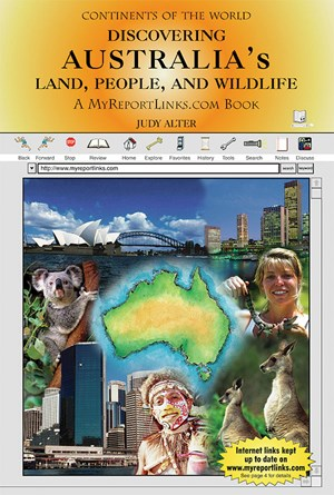 Picture of Discovering Australia's Land, People, and Wildlife: A MyReportLinks.com Book