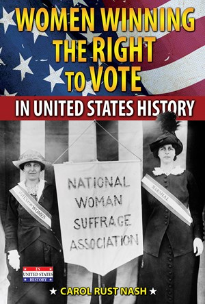Picture of Women Winning the Right to Vote in United States History: