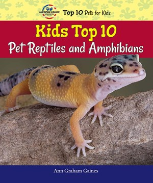 Picture of Kids Top 10 Pet Reptiles and Amphibians:
