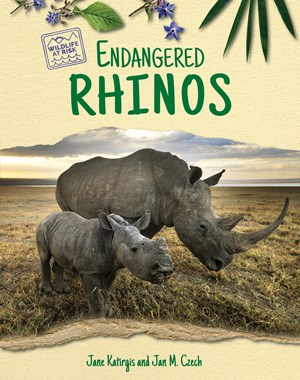 Picture of Endangered Rhinos