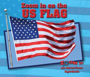 Picture of Zoom in on the US Flag: