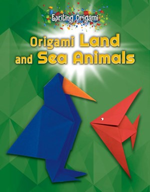 Picture of Origami Land and Sea Animals: