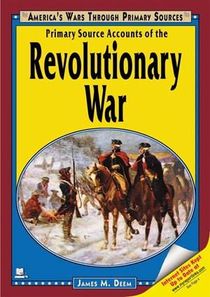 Picture of Primary Source Accounts of the Revolutionary War