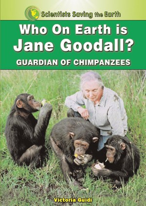 Picture of Who on Earth is Jane Goodall?: Champion for the Chimpanzees