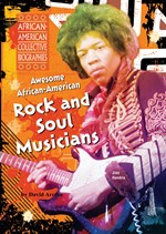 "<h2><a href=""http://www.enslow.com/books/Awesome_African_American_Rock_and_Soul_Musicians/236"">Awesome African-American Rock and Soul Musicians</a></h2>"