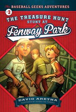 """<h2><a href=""""http://www.bluewaveclassroom.com/books/The_Treasure_Hunt_Stunt_at_Fenway_Park/4207"""">The Treasure Hunt Stunt at Fenway Park: <i>The Baseball Geeks Adventures Book 3</i></a></h2>"""