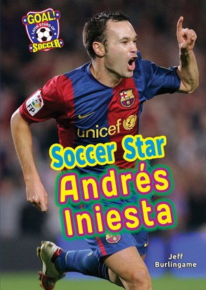 Picture of Soccer Star Andrés Iniesta