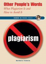 "<h2><a href=""../Other_Peoples_Words/2212"">Other People's Words: <i>What Plagiarism Is and How to Avoid It</i></a></h2>"