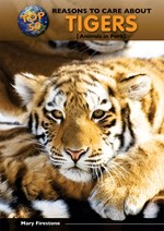 """<h2><a href=""""../books/Top_50_Reasons_to_Care_About_Tigers/3588"""">Top 50 Reasons to Care About Tigers: <i>Animals in Peril</i></a></h2>"""