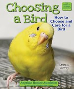 "<h2><a href=""../Choosing_a_Bird/441"">Choosing a Bird: <i>How to Choose and Care for a Bird</i></a></h2>"