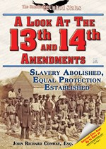 "<h2><a href=""../A_Look_at_the_Thirteenth_and_Fourteenth_Amendments/3424"">A Look at the Thirteenth and Fourteenth Amendments: <i>Slavery Abolished, Equal Protection Established</i></a></h2>"