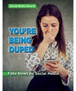 "<h2><a href=""https://www.enslow.com/books/Youre_Being_Duped/422028"">You're Being Duped: <i>Fake News on Social Media</i></a></h2>"