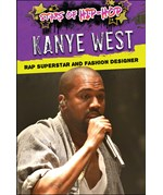 "<h2><a href=""https://www.enslow.com/books/Kanye_West/422046"">Kanye West: <i>Rap Superstar and Fashion Designer</i></a></h2>"